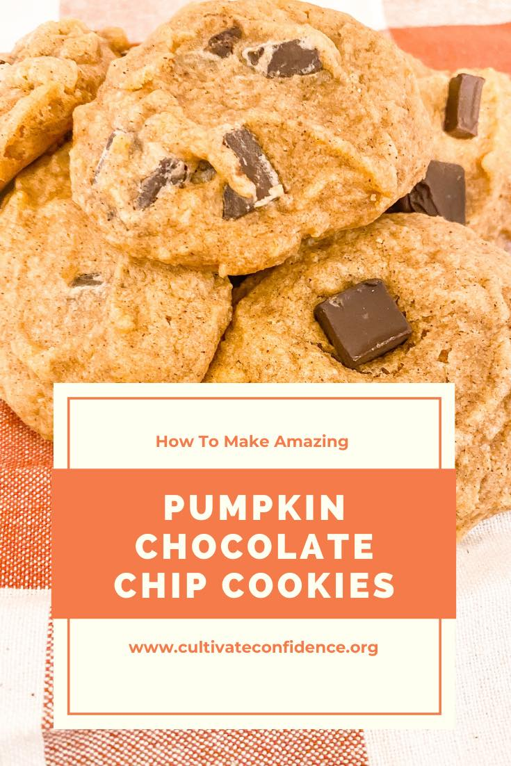 How to Make Amazing Pumpkin Chocolate Chip Cookies