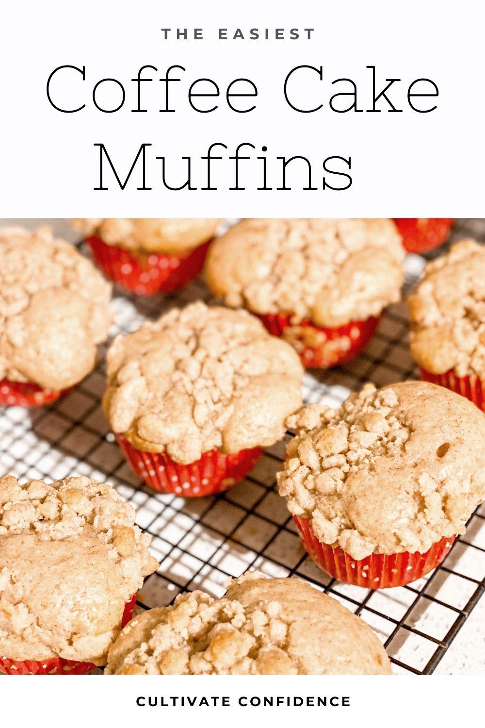 How to Make the Easiest Coffee Cake Muffins