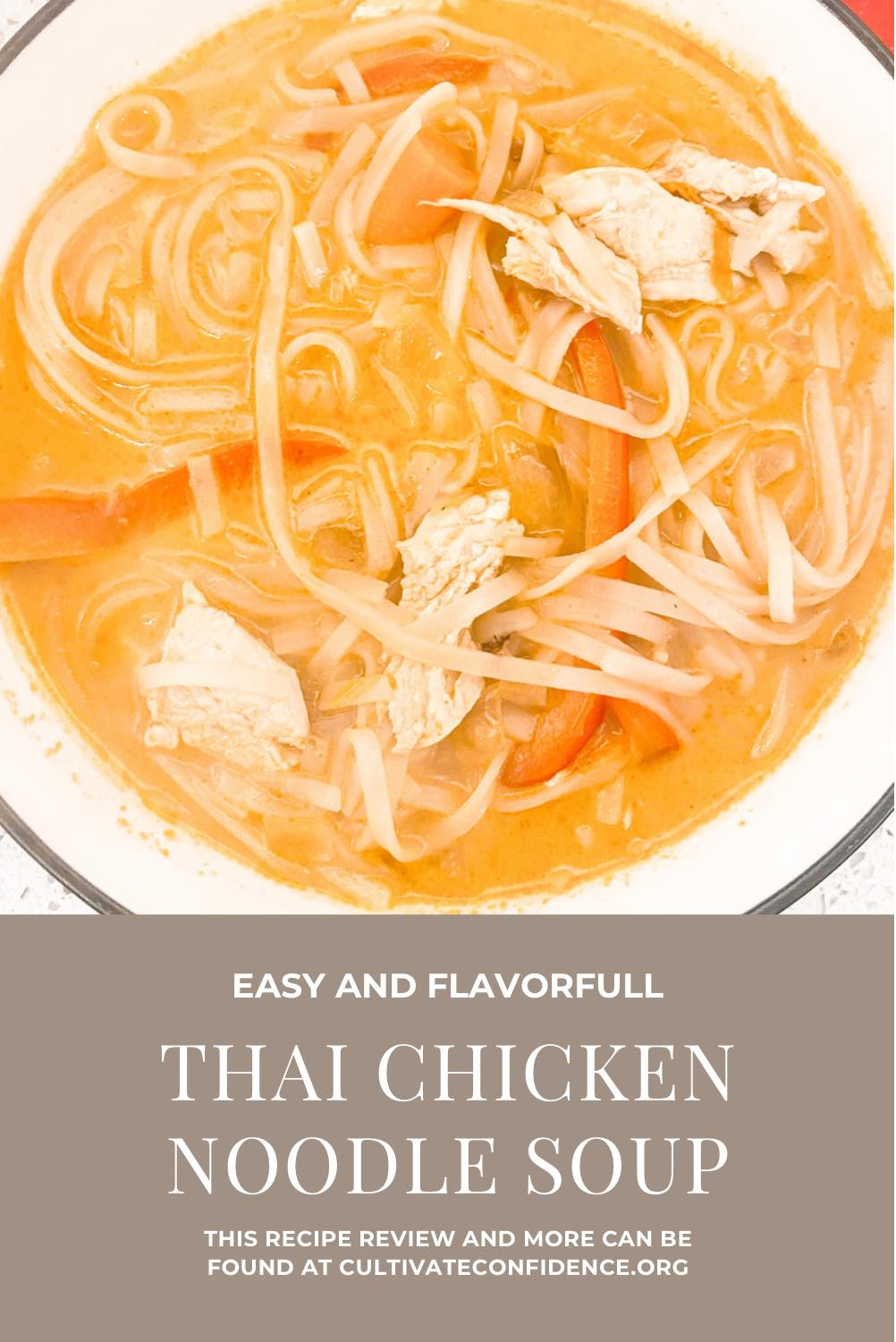 How to Make Thai Chicken Noodle Soup