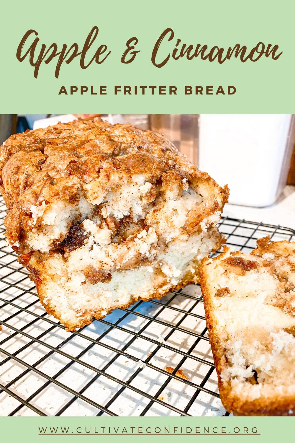 How to Make Apple Fritter Bread