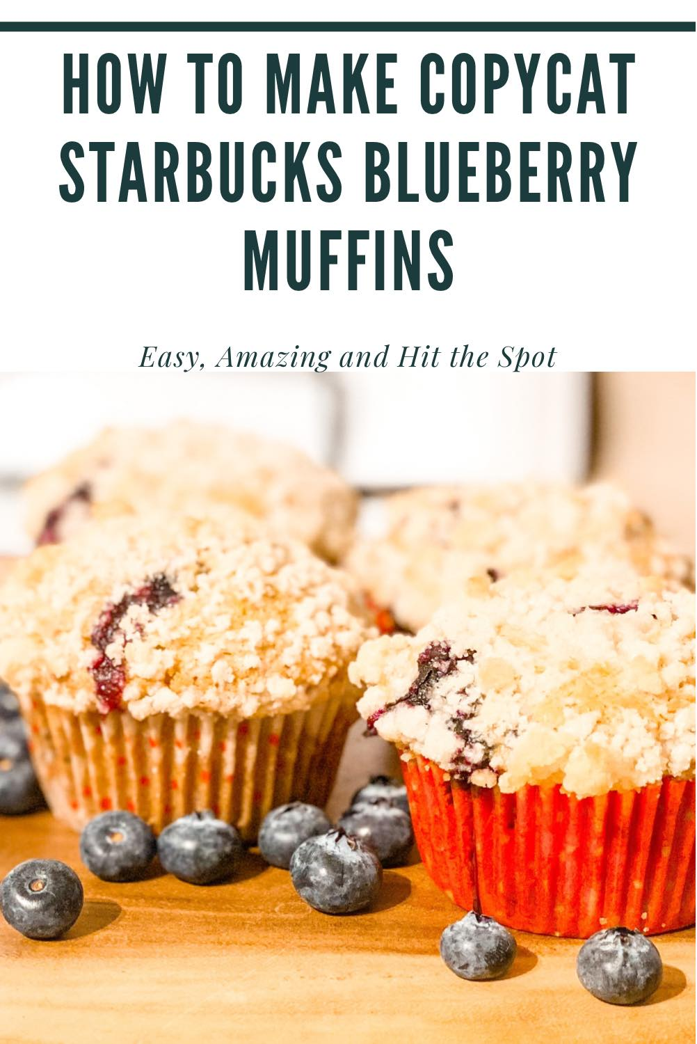 How to Make Copycat Starbucks Blueberry Muffins
