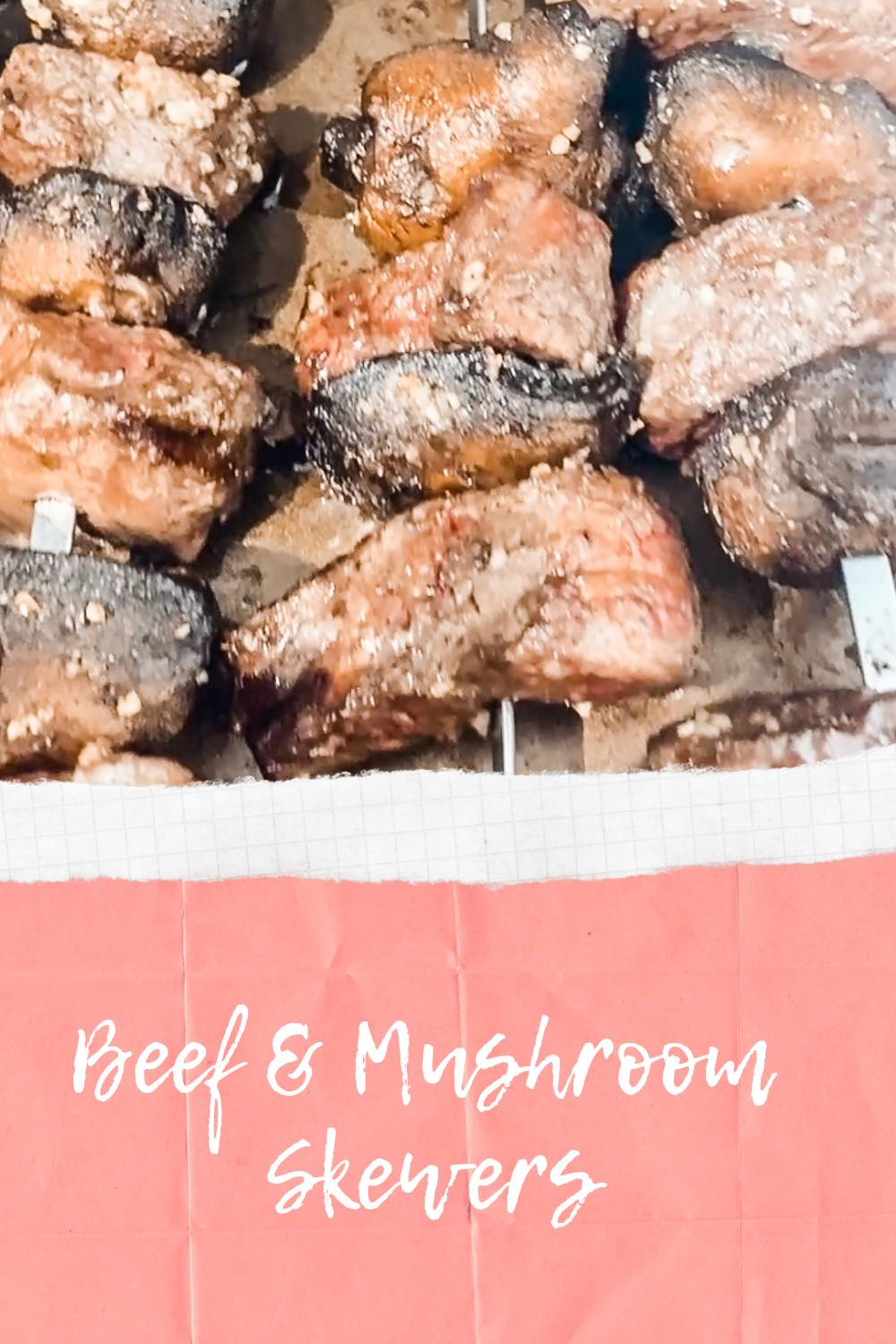 How to Make Beef & Mushroom Skewers with Soy & Scallion Butter
